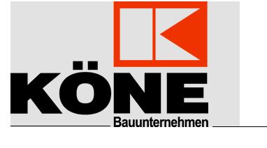 Logo Köne Bauunternehmen